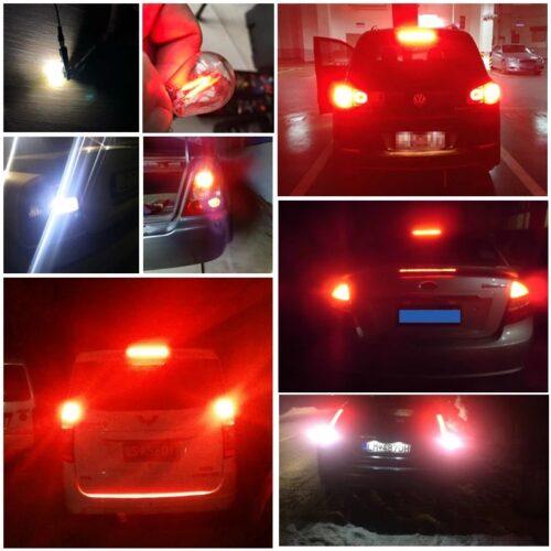 piros auto led