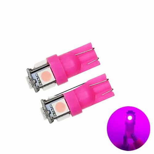 t10 led pink